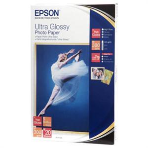 EPSON Ultra Glossy Photo Paper 10x15,300g(20listů)