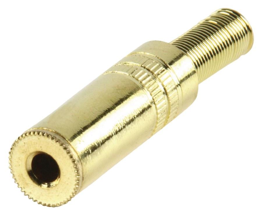 Valueline JC-131 - Stereo Konektor 3.5 mm zásuvka Kov