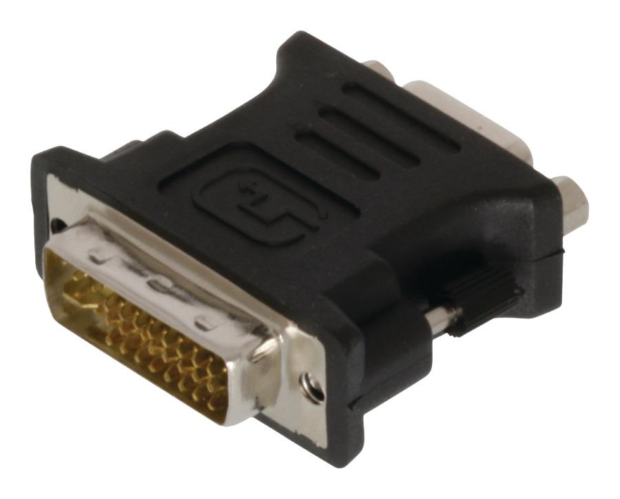 Valueline DVI-VGA kabel DVI-I 24+5-pin samec-VGA samice, černý