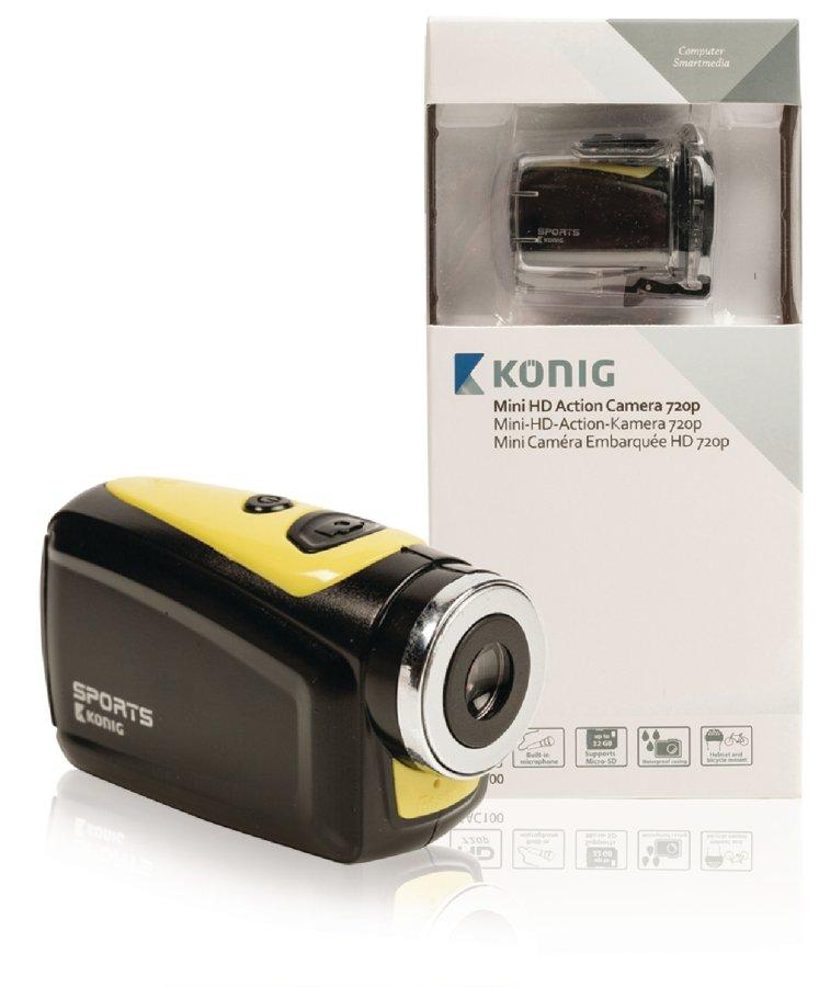 Koenig Akční HD kamera 720p 5 MP s vodotěsným pouzdrem