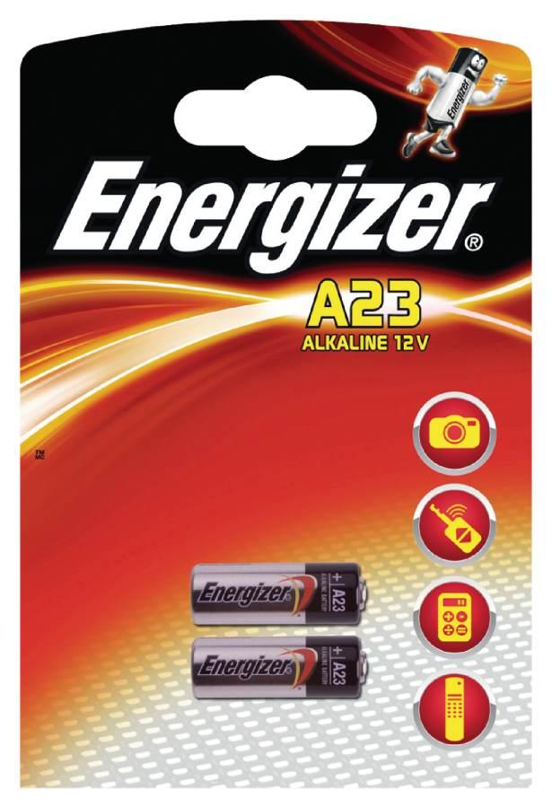 Energizer EN-629564 - Alkalická Baterie 23A 12 V, 2 kusy