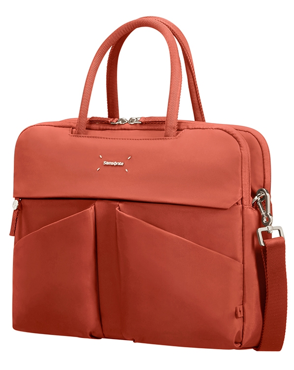 "Samsonite Lady Tech ORGANIZ. BAILHANDLE 14.1"" Rust"
