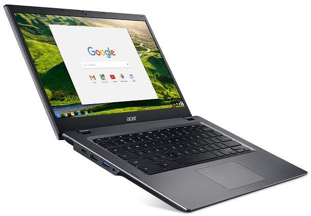 "Acer Chromebook 14 for Work (CP5-471-C2SU) Celeron N3855U/4 GB+N/A/eMMC 32GB+N/A/HD Graphics/14"" HD matný/BT/Google Chrome/Black"