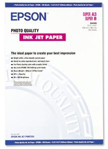 Papír Epson Photo Quality Ink Jet | 105g | A3+ | 100listů