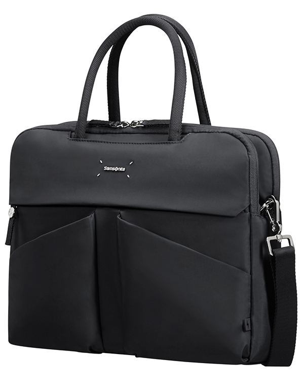 "Samsonite Lady Tech ORGANIZ. BAILHANDLE 14.1"" Black"