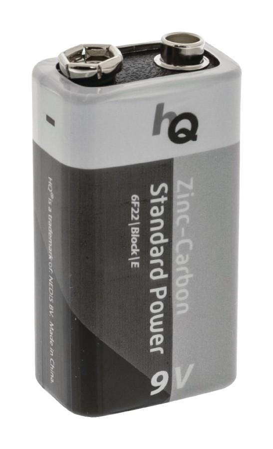 HQ 9V zinko-uhlíková baterie, 1 kus