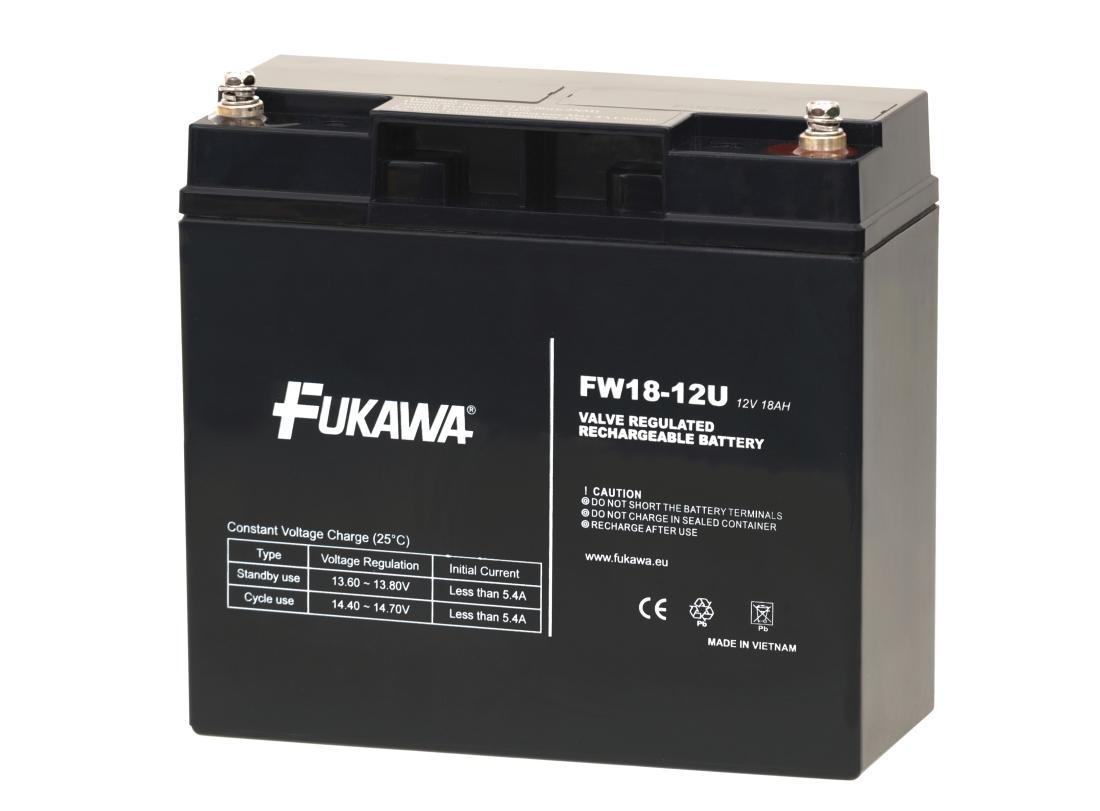 Akumulátor FUKAWA FW 18-12U (12V 18Ah)