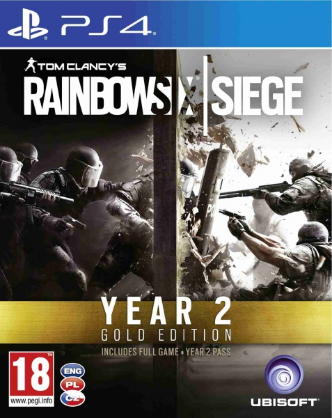 PS4 -Tom Clancy's Rainbow Six: Siege Gold Season 2