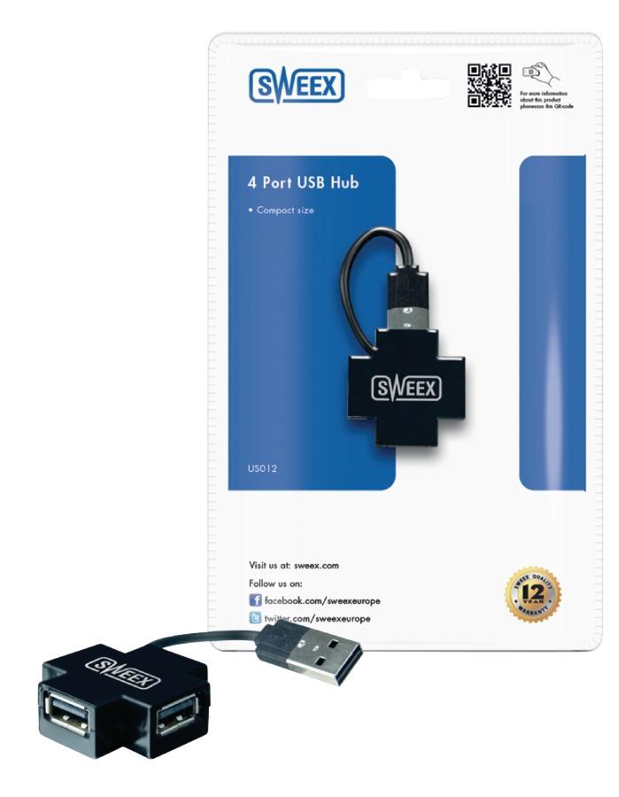 Sweex Externi HUB 4x 2.0 USB
