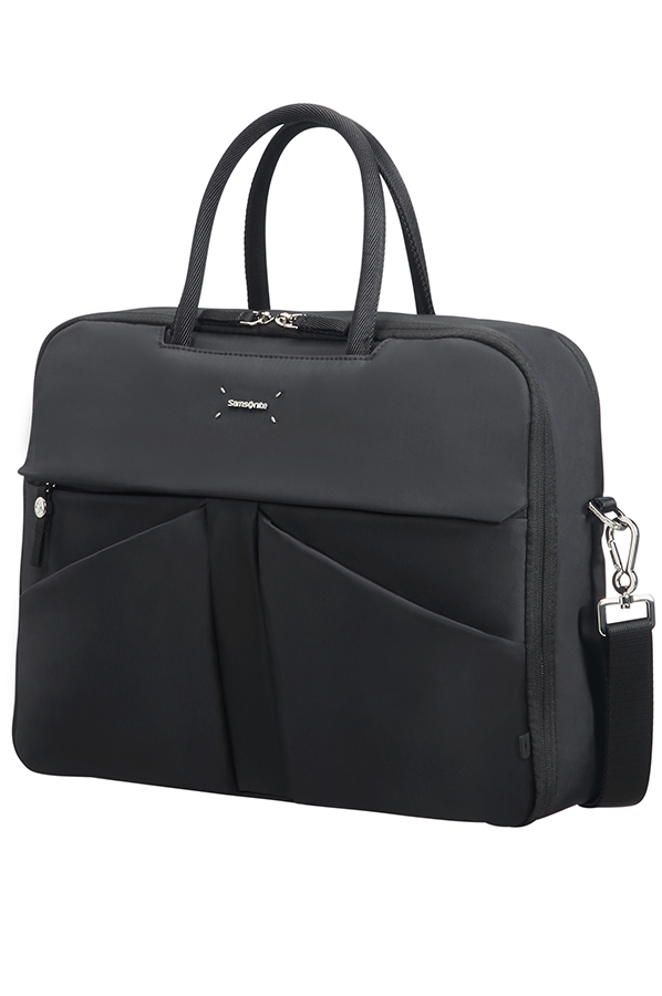 "Samsonite Lady Tech BAILHANDLE 15.6"" Black"