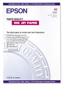 EPSON A3,Photo Quality Inkjet Paper (100listů)