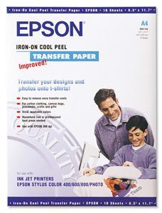 EPSON A4, Iron on Transfer Film (10ks)
