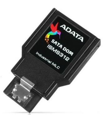 ADATA SATA III DOM paměťová karta 16GB, MLC, 0 to 70C, 7pin, vertikální,bulk