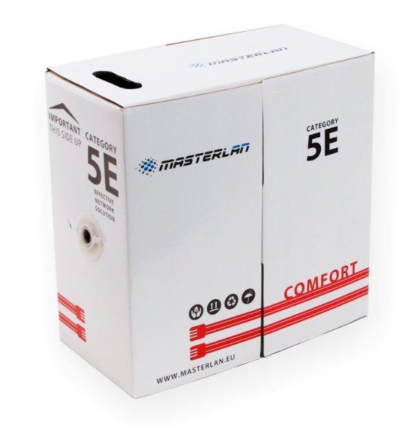 Masterlan Comfort FTP kabel drát venkovní Cat5e, PE, 24AWG, 305m