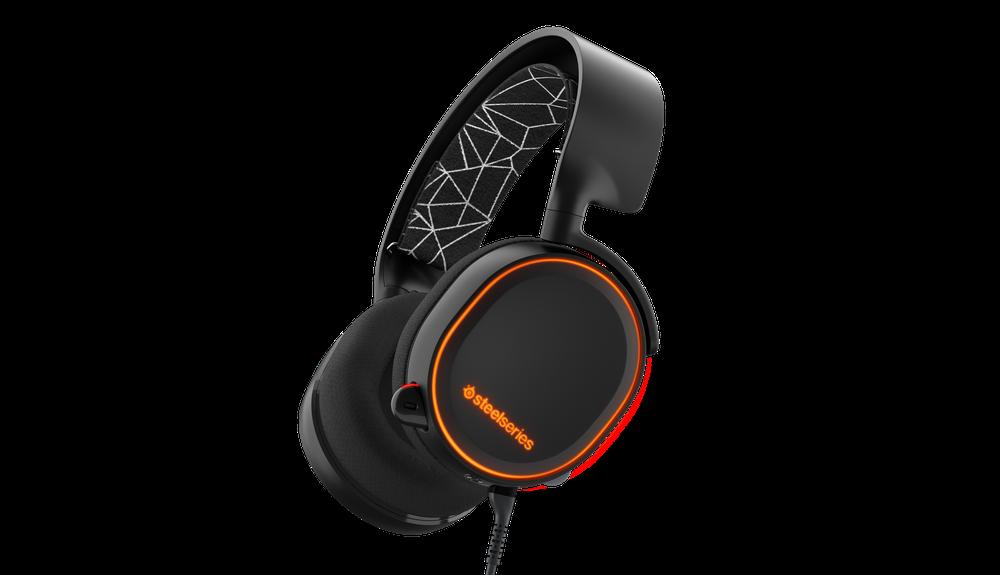 Gaming headset SteelSeries Arctis 5 Black