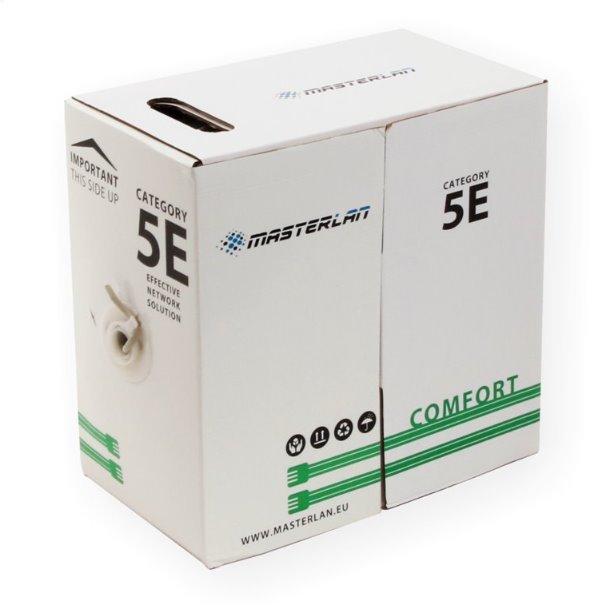 Masterlan Comfort UTP kabel drát Cat5e, PVC, 24AWG, 305m