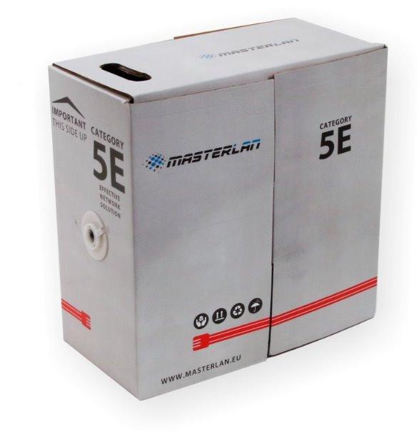 Masterlan FTP kabel drát venkovní Cat5e, PE, 24AWG, 305m
