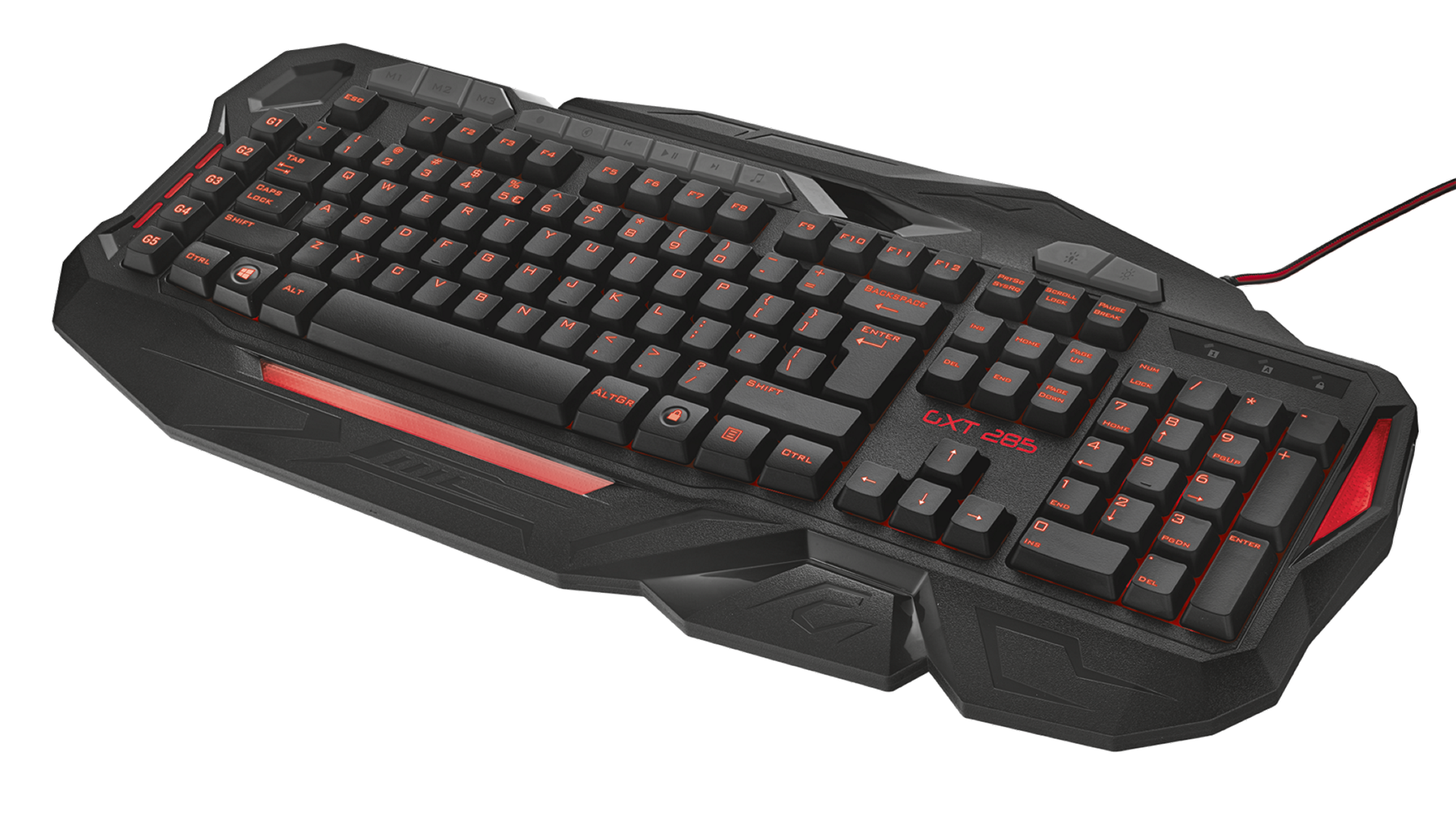 kláv. TRUST GXT 285 Advanced Gaming Keyboard US