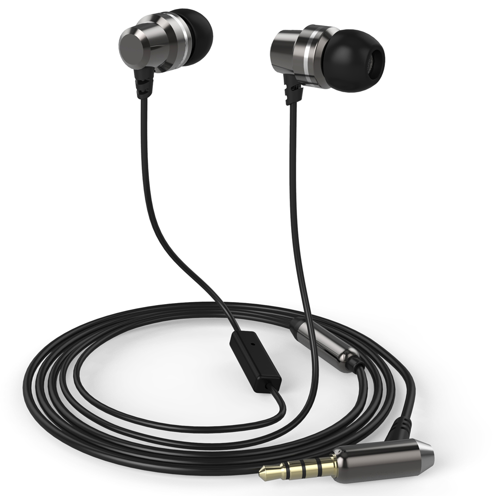 Lenovo Idea sluchátka In-Ear Headset P190 Black = šedé