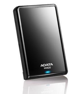 ADATA HV620 DashDrive 1TB ext. HDD 2.5'', USB 3.0, černý, lesklý