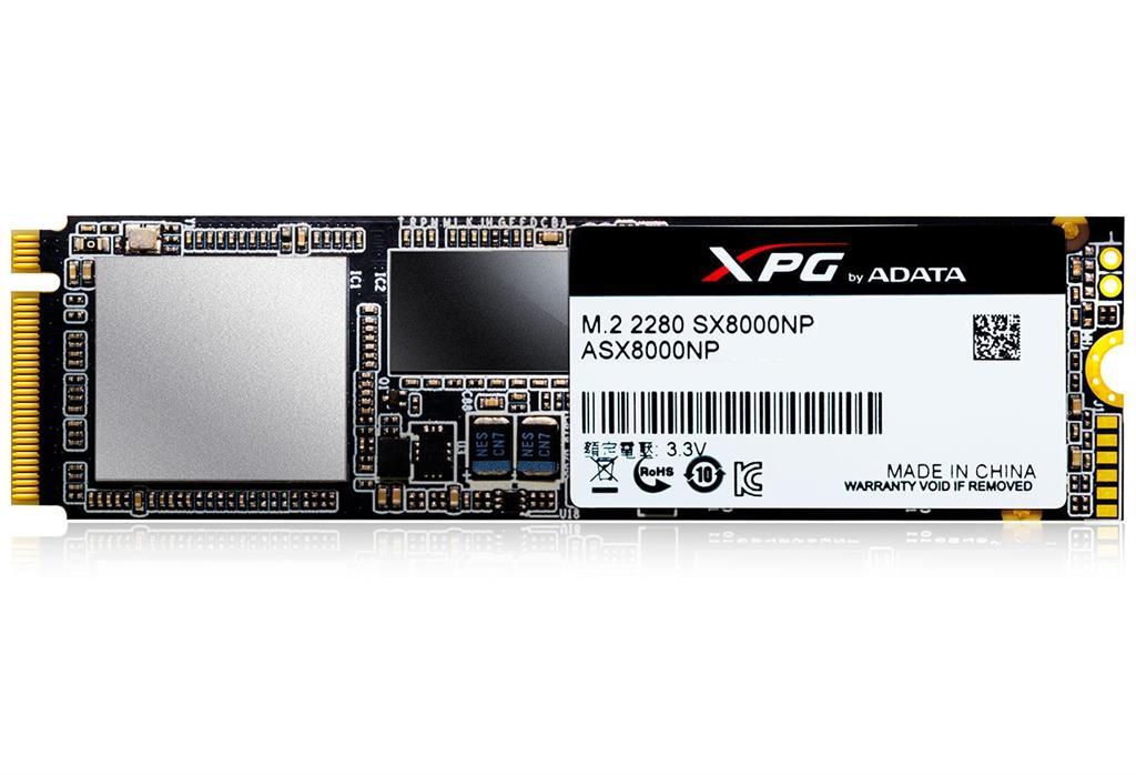 SSD disk ADATA SX8000, 256GB, PCIE Gen3*4, R/W: 1900/600