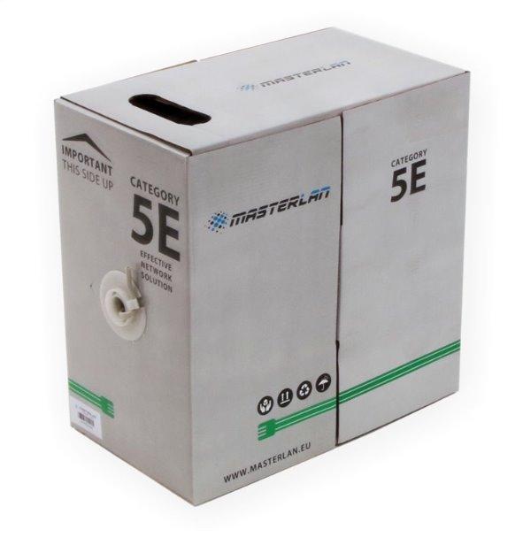 Masterlan UTP kabel drát Cat5e, PVC, 24AWG, 305m
