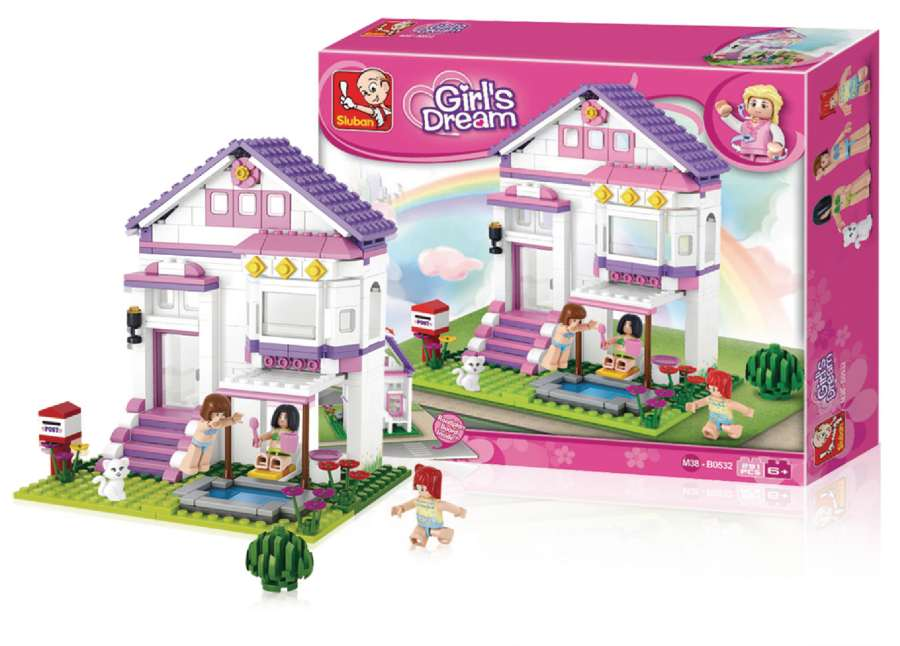 Sluban M38-B0532 - Holiday Home