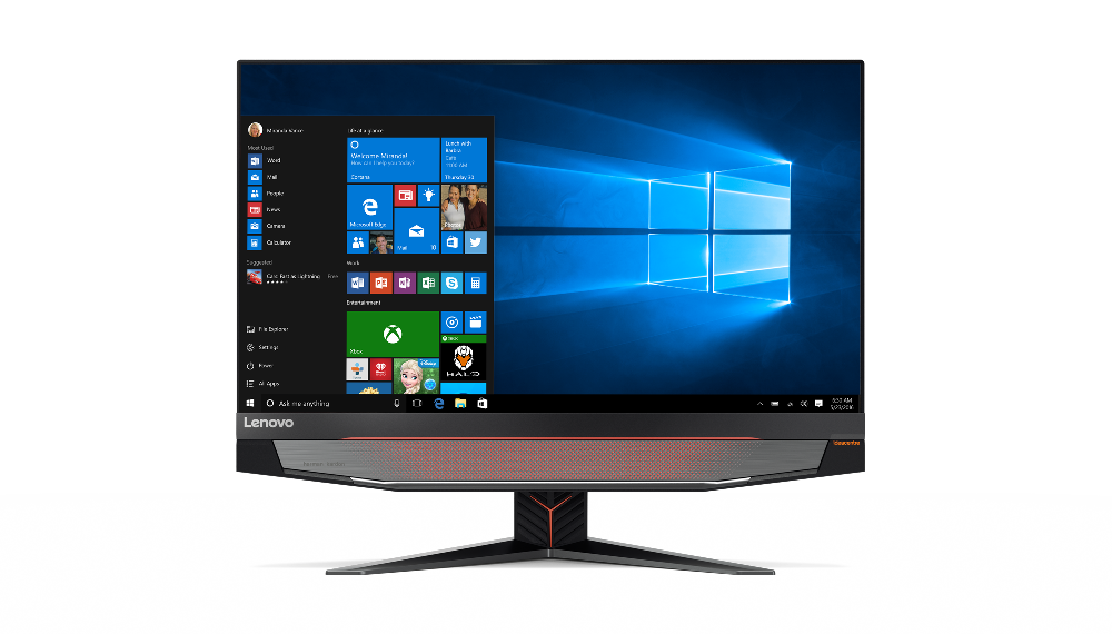 "Lenovo IdeaCentre AIO Y910 i5-6400 3,300GHz/16GB/SSD 128GB + HDD 1TB/27"" QHD/GeForce 8GB/DVD-RW/WIN10 F0CJ000NCK"