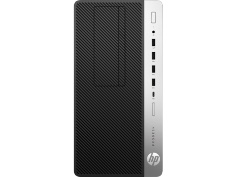 HP ProDesk 600 G3 MT, i5-7500, Intel HD, 8 GB, SSD 256 GB, DVDRW, W10Pro, 3y