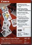 Canon fotopapír HR-101 - A4 - 106g/m2 - 200 listů - matný
