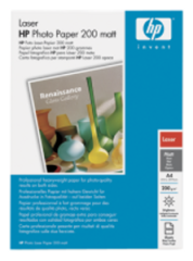 HP Q6550A Laser Photo Paper,Matt, A4, 100 listů, 200 g/m2