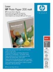 HP Laser Photo Paper,mat,A4,100 listů,200g/m2