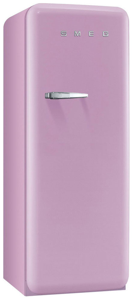Chladnička Smeg FAB 28 RRO1 - růžová