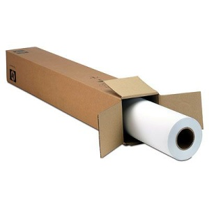 HP Q1444A Bright White Inkjet Paper-841 mm x 45.7 m (33.11 in x 150 ft), 4.8 mil, 90 g/m2