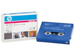 HP DAT 72 72GB data cartridge