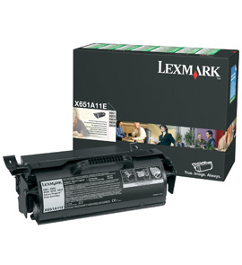 Toner Lexmark black | return | 7000str | X651de/X652de/X654de/X656de/X656dte/...
