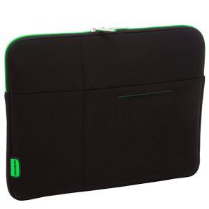 Pouzdro SAMSONITE U3719002 10,2'' AIRGLOW počítač, polyamid, černá, zelená