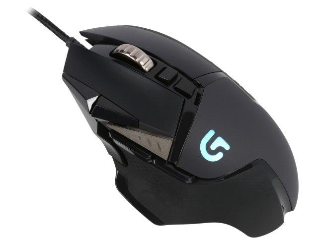 Logitech myš G502 Proteus Spectrum Gaming Mouse, optická, USB, černá