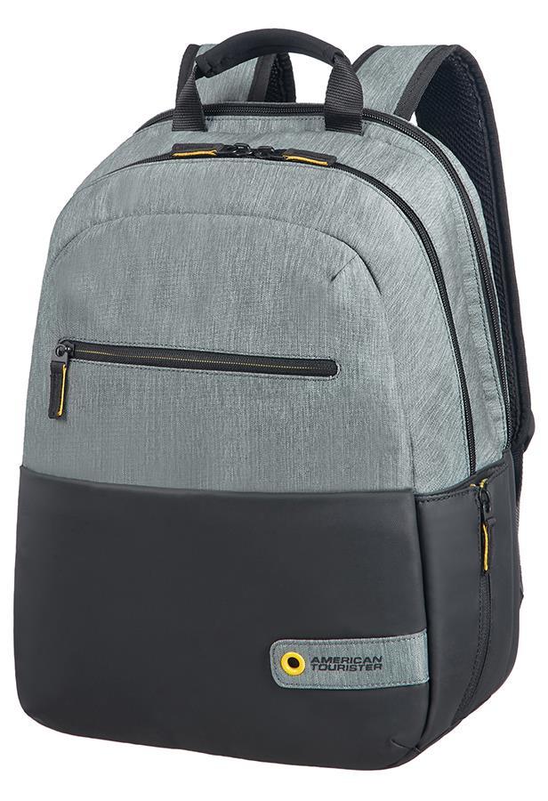 Backpack AT by SAMSONITE 28G09001 CD 13,3-14,1'' comp, doc, tblt, pock, blck/gre