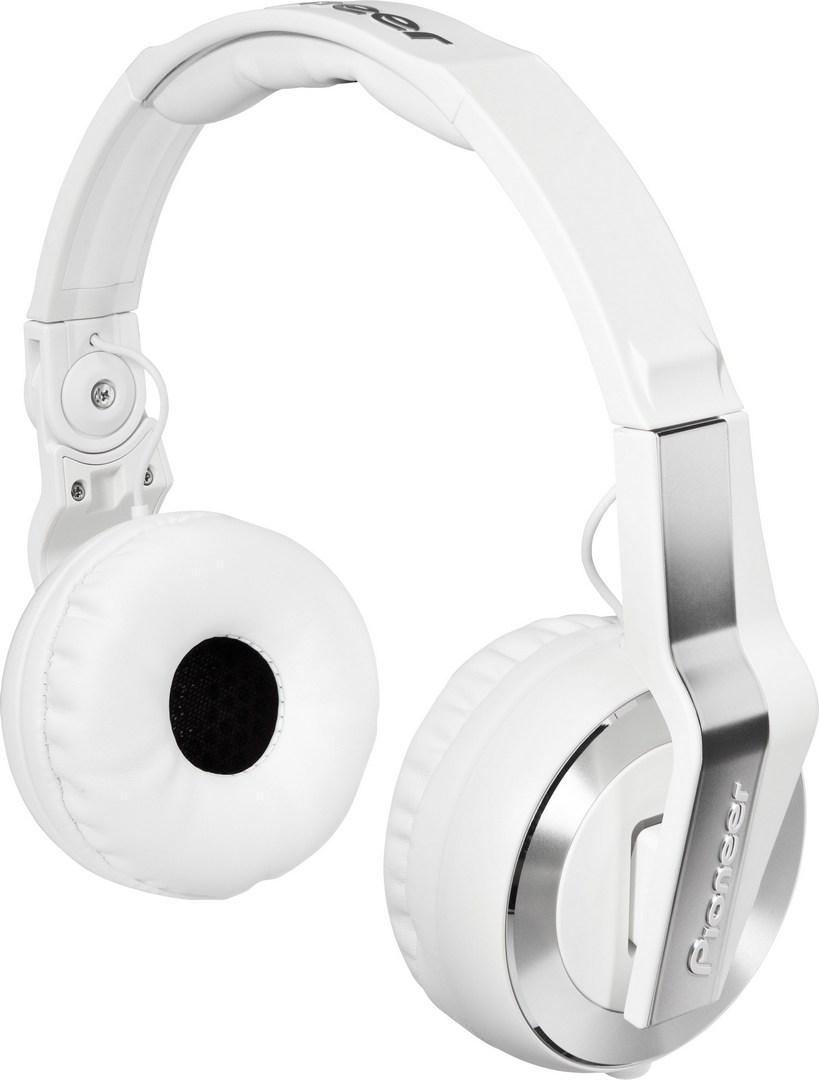 Pioneer DJ sluchátka bílá