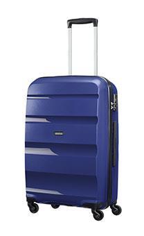 Cabin upright AT SAMSONITE 85A41001 BonAir Strict S 55 4wheels luggage, navy blu