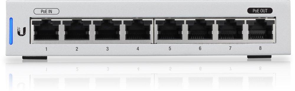 UBNT UniFi Switch,8-Port,1x PoE Out,5Pck (bez napájecího adaptéru)