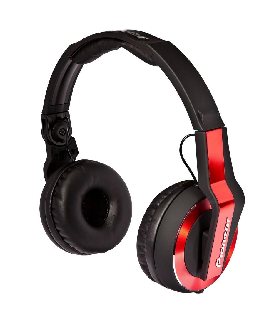 Pioneer DJ sluchátka červená