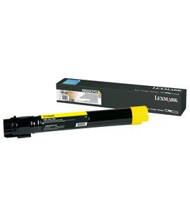 Toner Lexmark yellow | 22000str | X950/X952/ X954