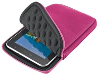 "TRUST Pouzdro na tablet 7"" Anti-shock bubble sleeve - pink, růžové"