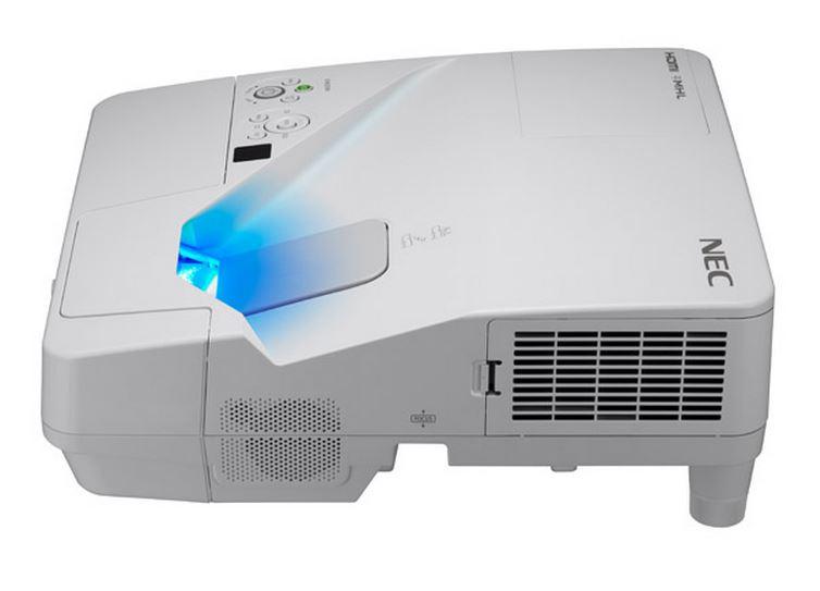 NEC LCD proj. UM351W-3500lm,WXGA,LAN,UST
