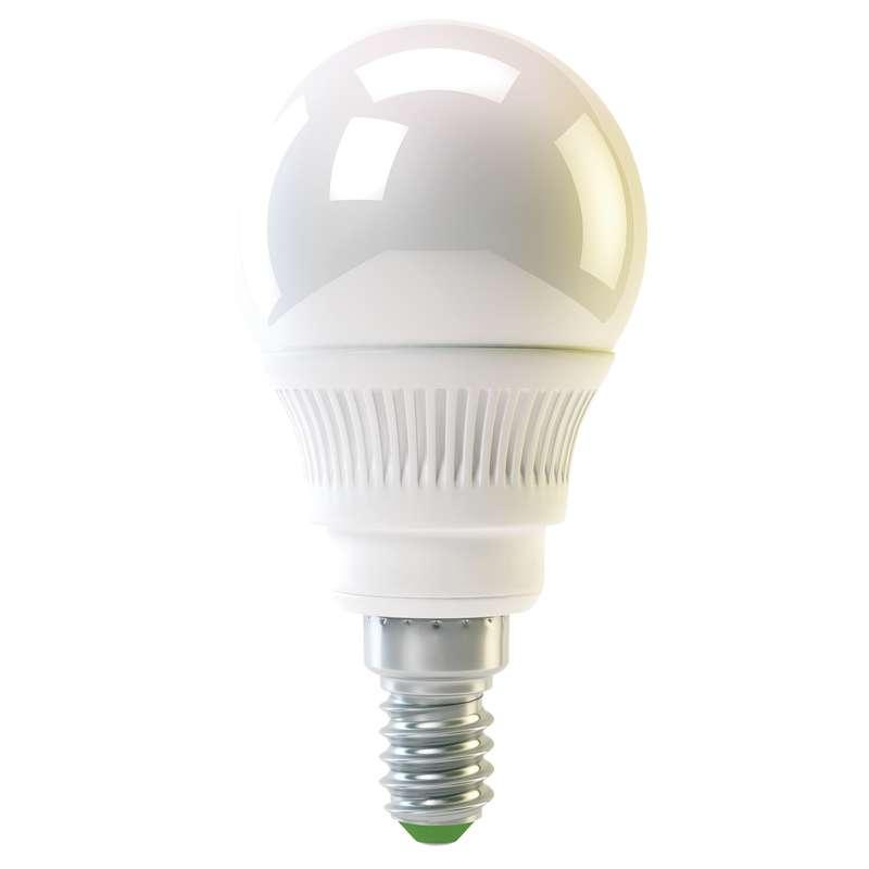 Emos LED žárovka MINI GLOBE, 4W/30W E14, WW teplá bílá, 320 lm, Classic A+