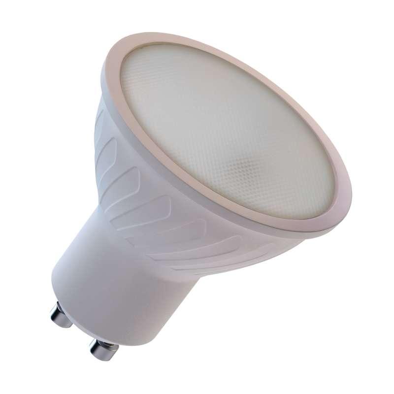 Emos LED žárovka MR16, 7W/45W GU10, WW teplá bílá, 560 lm, Classic A+
