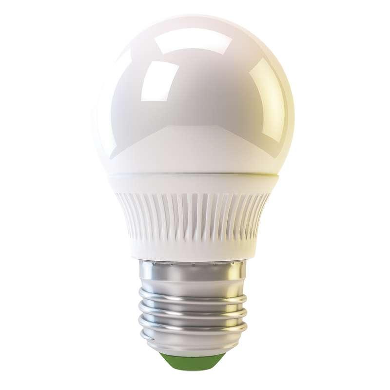 Emos LED žárovka MINI GLOBE, 4W/30W E27, WW teplá bílá, 320 lm, Classic A+