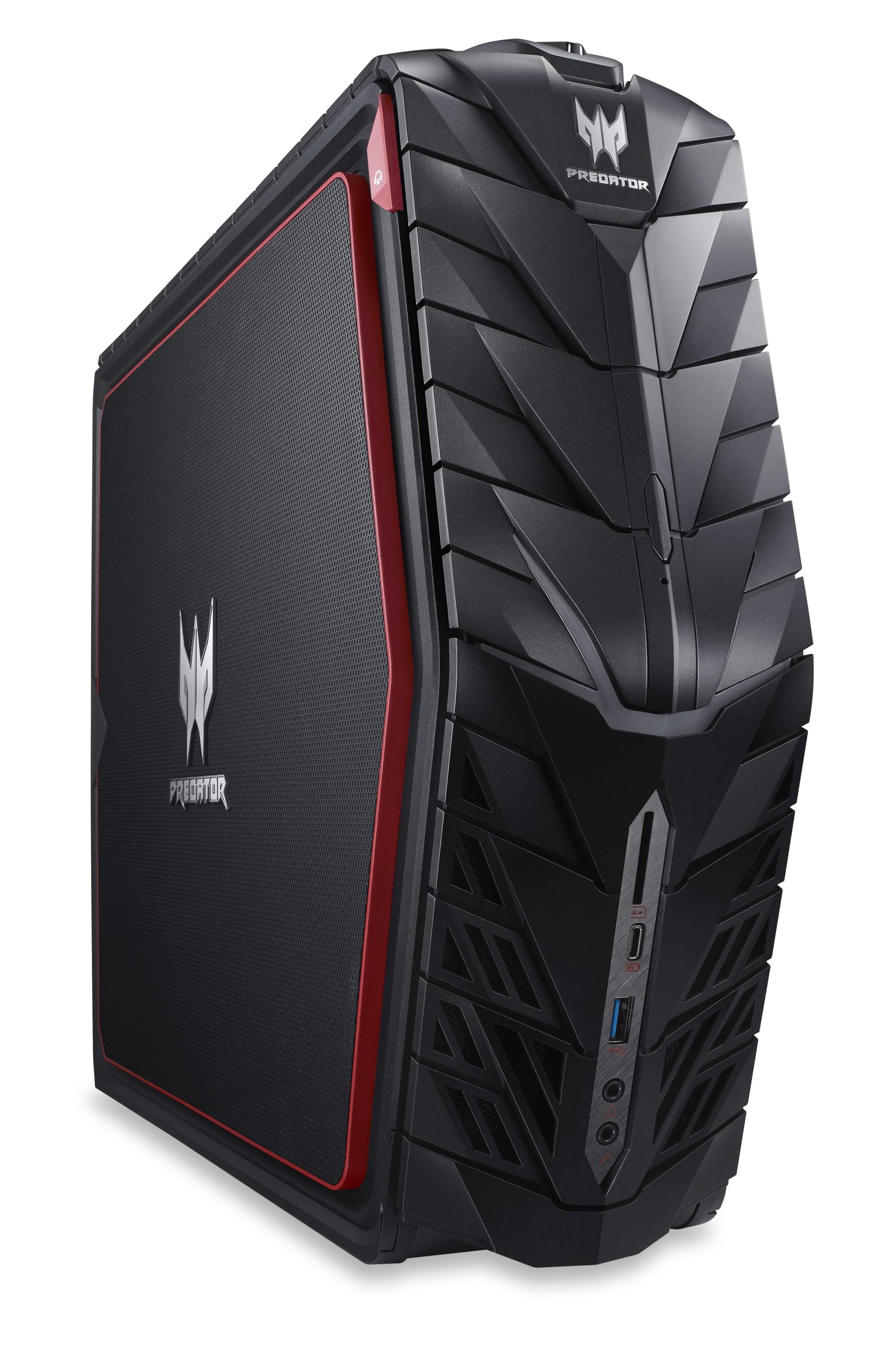 Acer Aspire G1-710 Predator Ci7-7700/8GB+8GB/256GB SSD+2TB 7200 ot./GTX 1070/DVDRW/W10 Home